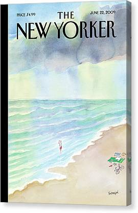 New Yorker June 22nd, 2009 Canvas Print