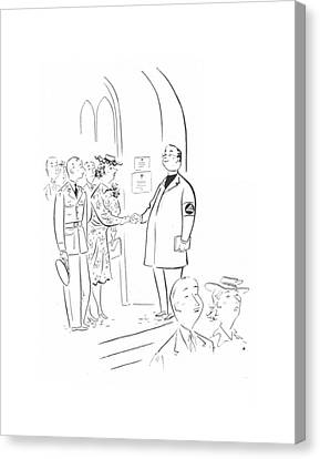 New Yorker June 27th, 1942 Canvas Print