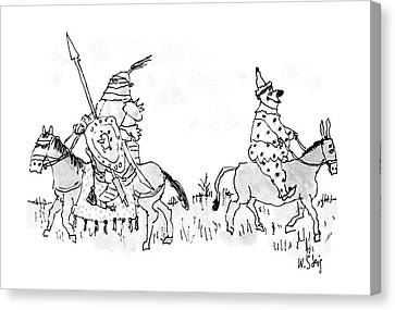 New Yorker June 27th, 1988 Canvas Print by William Steig