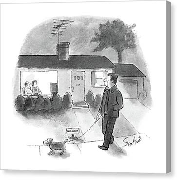 New Yorker June 30th, 1986 Canvas Print by Stan Hunt
