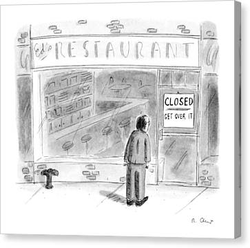 New Yorker June 5th, 1995 Canvas Print by Roz Chast