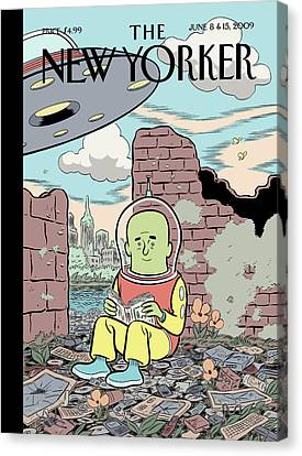 New Yorker June 8th, 2009 Canvas Print