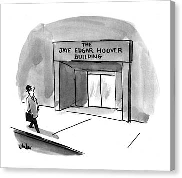 New Yorker March 15th, 1993 Canvas Print