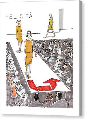 New Yorker March 22nd, 1999 Canvas Print