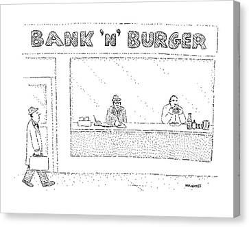 New Yorker March 23rd, 1981 Canvas Print