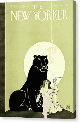 Klimt Canvas Print - New Yorker March 28th, 1925 by Ray Rohn