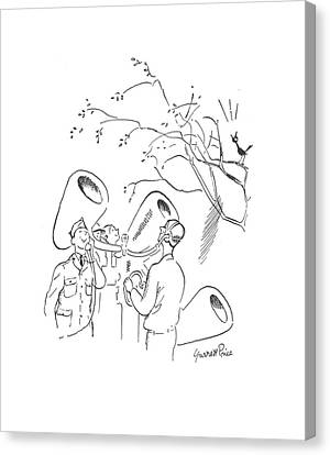 New Yorker March 28th, 1942 Canvas Print by Garrett Price