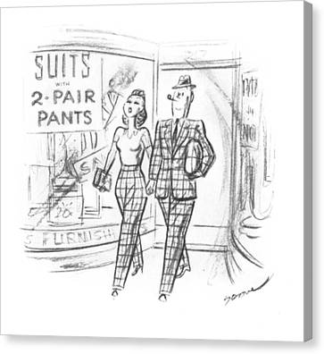 New Yorker May 10th, 1941 Canvas Print