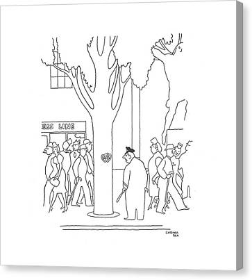 New Yorker May 11th, 1940 Canvas Print by Gardner Rea