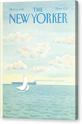 New Yorker May 13th, 1985 Canvas Print
