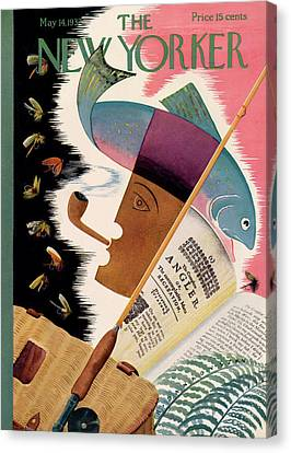 New Yorker May 14th, 1932 Canvas Print by Bela Dankovszky