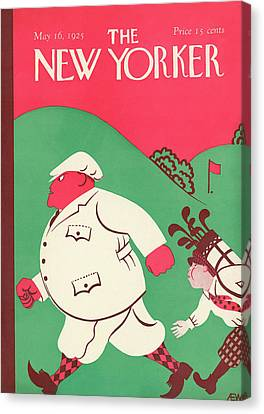 New Yorker May 16th, 1925 Canvas Print by A.E. Wilson