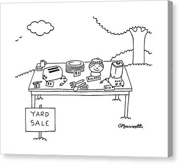 New Yorker May 16th, 1988 Canvas Print by Charles Barsotti