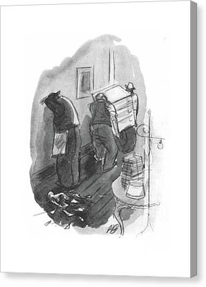 New Yorker May 1st, 1943 Canvas Print by Perry Barlow