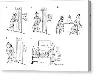 New Yorker May 1st, 1943 Canvas Print