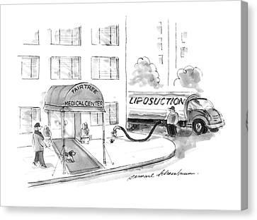 New Yorker May 20th, 1996 Canvas Print by Bernard Schoenbaum