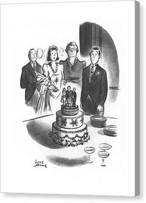 New Yorker May 24th, 1941 Canvas Print