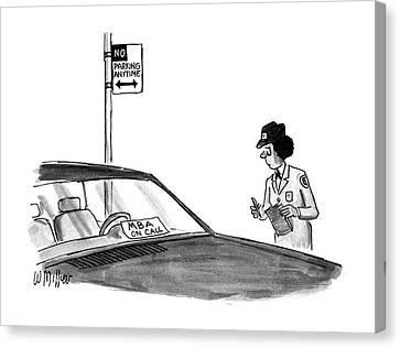 New Yorker May 25th, 1987 Canvas Print