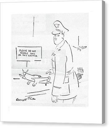 Marine Canvas Print - New Yorker May 27th, 1944 by Garrett Price