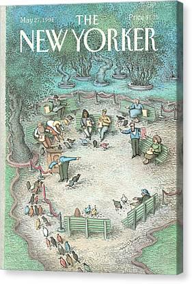 New Yorker May 27th, 1991 Canvas Print by John O'Brien
