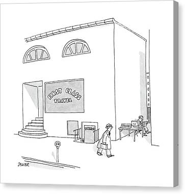 New Yorker May 2nd, 1988 Canvas Print