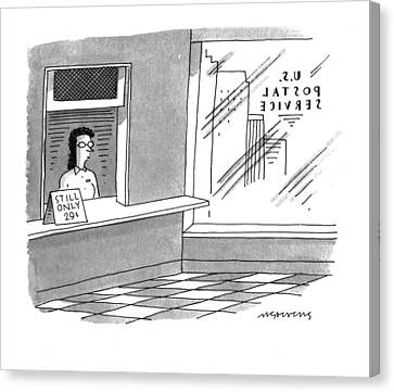 New Yorker May 2nd, 1994 Canvas Print by Mick Stevens