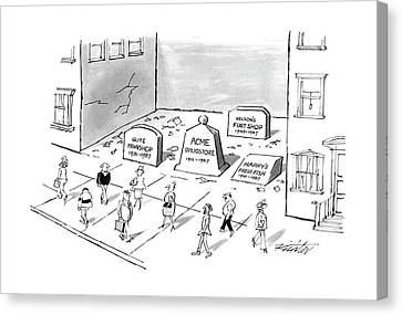 New Yorker May 30th, 1988 Canvas Print