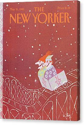 New Yorker May 31st, 1982 Canvas Print by William Steig