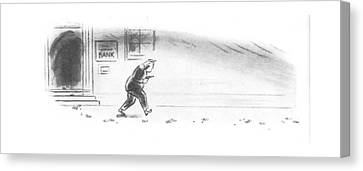 New Yorker May 3rd, 1941 Canvas Print by Leonard Dove