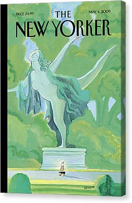 New Yorker May 4th, 2009 Canvas Print