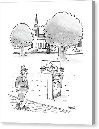 New Yorker May 9th, 1988 Canvas Print
