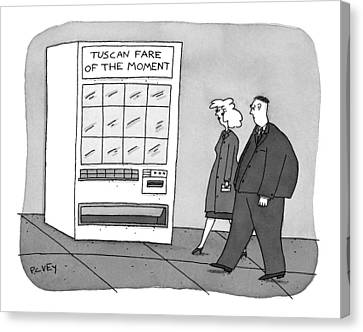 New Yorker November 17th, 1997 Canvas Print