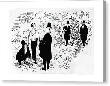 New Yorker November 18th, 1944 Canvas Print
