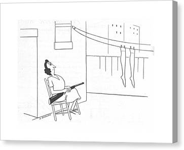 New Yorker November 20th, 1943 Canvas Print