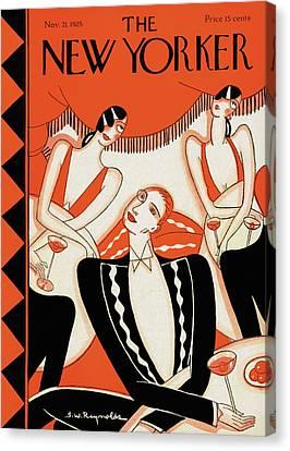 New Yorker November 21st, 1925 Canvas Print