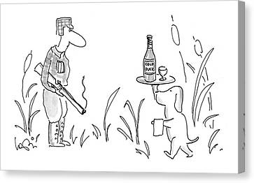 New Yorker November 21st, 1994 Canvas Print by Arnie Levin