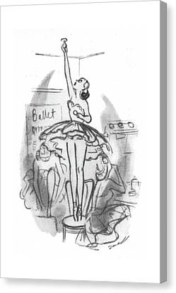 Stretching Canvas Print - New Yorker November 22nd, 1941 by Leonard Dove