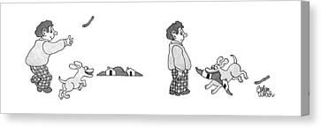 New Yorker November 23rd, 1992 Canvas Print