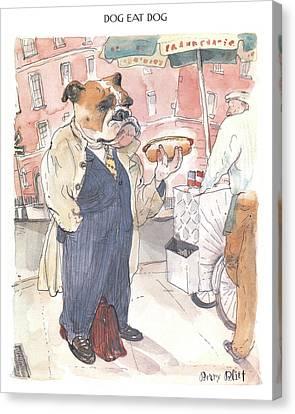 New Yorker November 23rd, 1998 Canvas Print