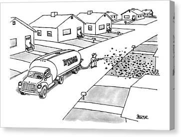 New Yorker November 25th, 1996 Canvas Print
