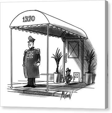 New Yorker November 27th, 1995 Canvas Print
