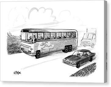 New Yorker November 28th, 1988 Canvas Print by Warren Miller