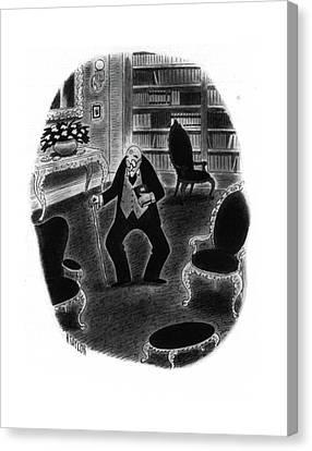 New Yorker November 29th, 1941 Canvas Print