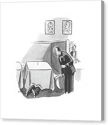 New Yorker November 2nd, 1940 Canvas Print by Robert J. Day