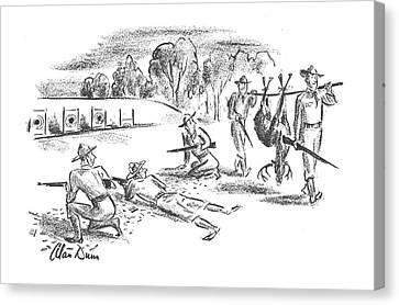 New Yorker November 9th, 1940 Canvas Print by Alan Dunn