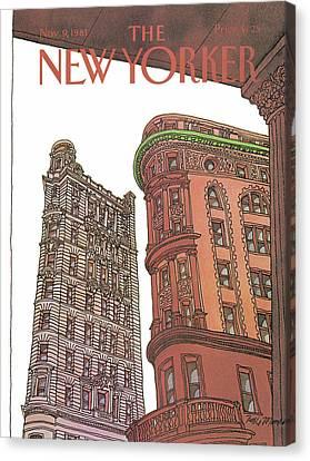 New Yorker November 9th, 1981 Canvas Print
