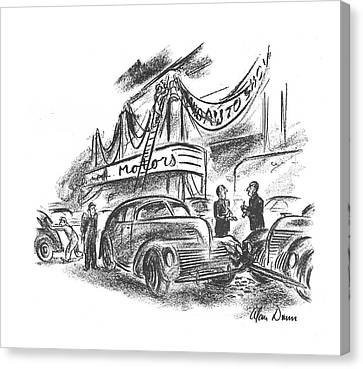 New Yorker October 12th, 1940 Canvas Print