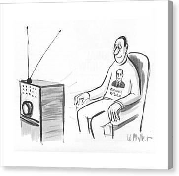 Criticism Canvas Print - New Yorker October 15th, 1966 by Warren Miller