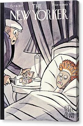 New Yorker October 16th, 1937 Canvas Print
