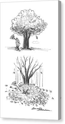 New Yorker October 17th, 1988 Canvas Print